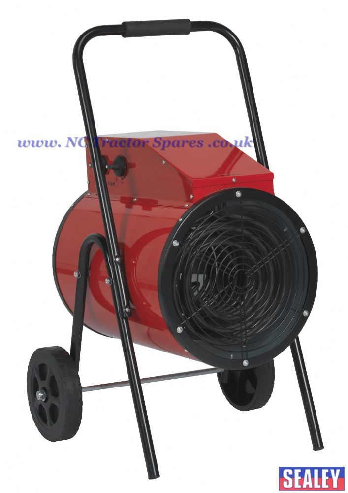 Industrial Fan Heater 15kW 415V 3ph